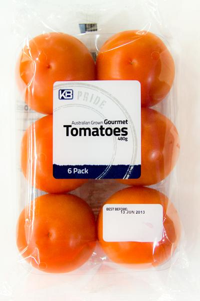 Gourmet tomatoes 6 pack